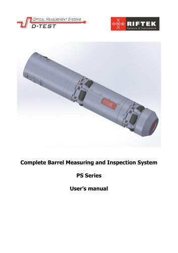 Complete Barrel Measuring and Inspection System PS Series