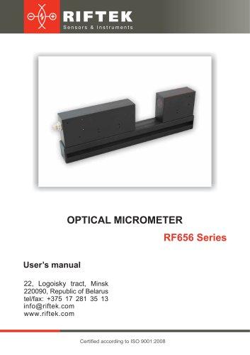 Optical Micrometers RF656 Series