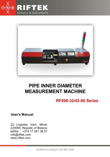 Pipe Inner Diameter Measurement Machine