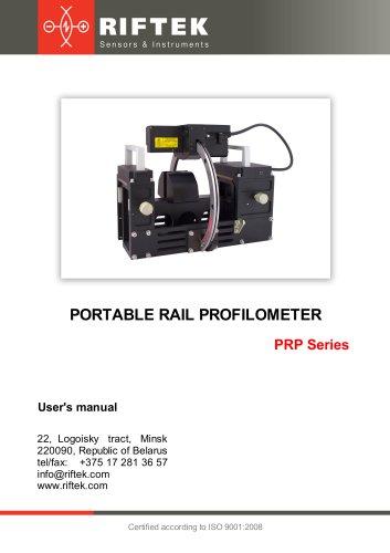 Rail Profile Measurement Gauge, PRP Series