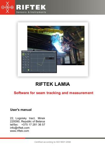 Riftek Lamia - Seam Tracking and Measurement Software