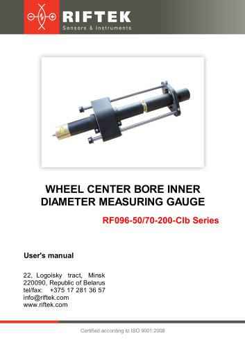 Wheel Center Bore ID Measuring Gauge