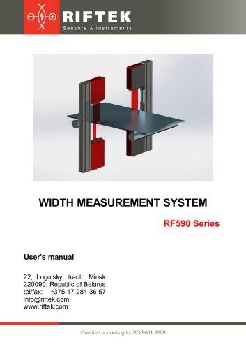 Width Measurement System RF590 Series