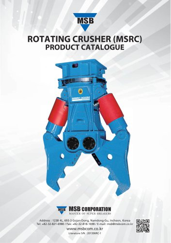 ROTATING CRUSHER (MSRC)
