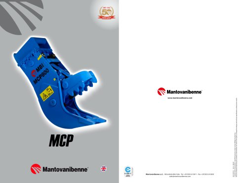 Fixed Pulveriser MCP