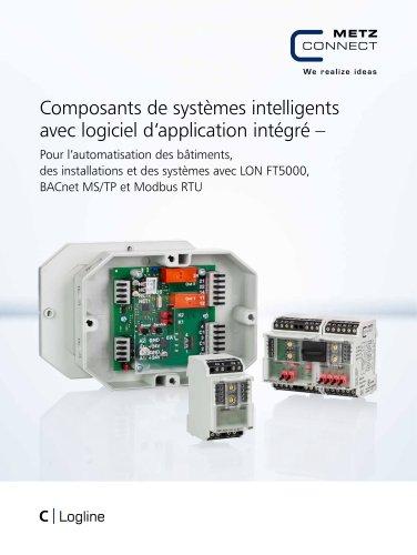 C|Logline - Composants de systèmes intelligents avec logiciel d'application intégré
