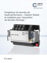 C|Logline - Enregistreur de données de haute performance – Solution flexible et modulaire pour l'acquisition de données d'énergie - 1