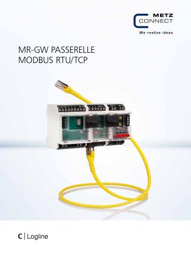 C|Logline - MR-GW PASSERELLE MODBUS RTU/TCP