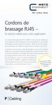 Cordons de brassage RJ45 – la solution idéale pour votre application - 1