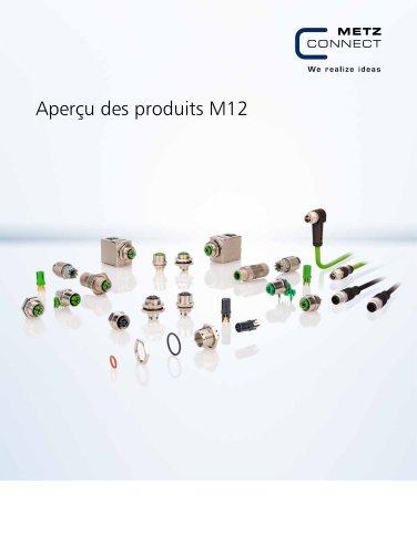 P|Cabling - Aperçu des produits M12