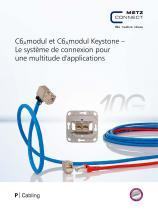 P|Cabling - C6Amodul et C6Amodul Keystone – Le système de connexion pour une multitude d'applications - 1