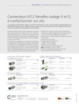 P|Cabling - Connecteurs M12 femelles à confectionner sur site, codage X et D - 2