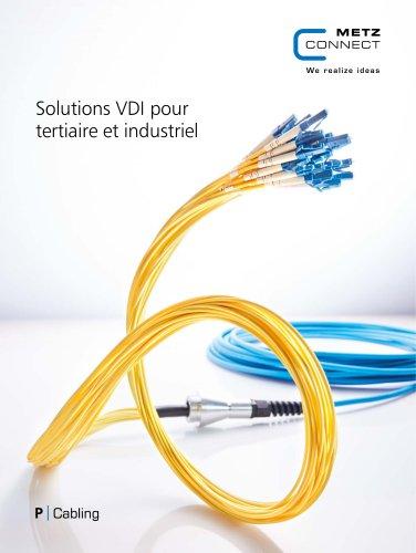 P|Cabling - Solutions VDI pour tertiaire et industriel