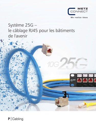 P|Cabling - Système 25G – le câblage RJ45 pour les bâtiments de l'avenir
