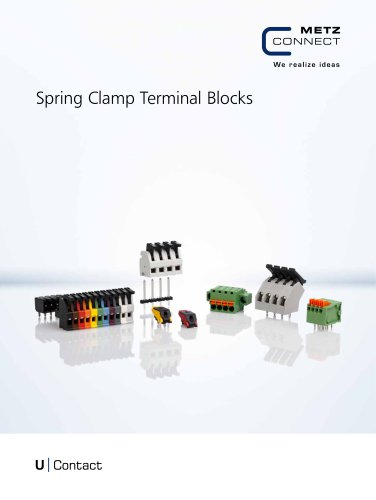 U|Contact - Spring Clamp Terminal Blocks