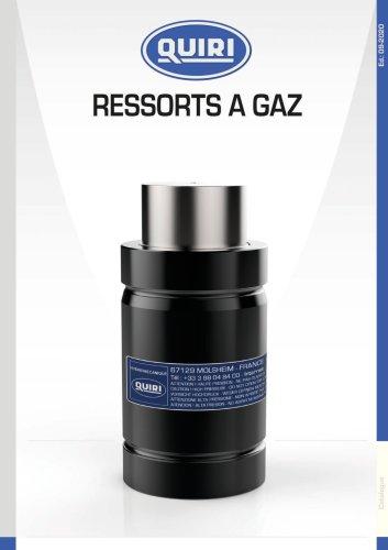 RESSORTS A GAZ