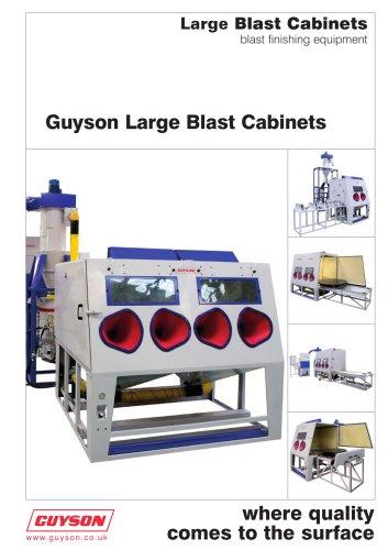 Guyson Large Blast Cabinets