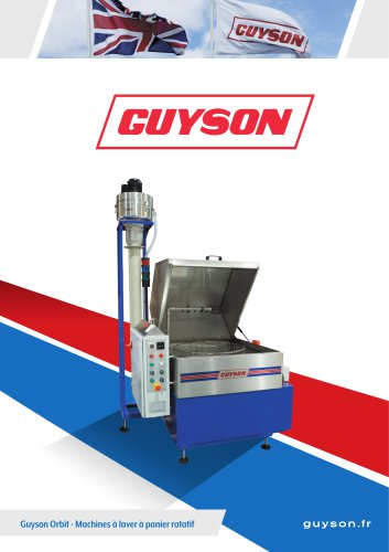 Guyson Orbit - machines de lavage