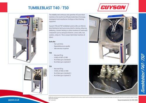 Guyson Tumbleblast T40/T50
