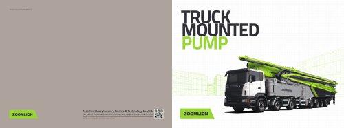 36X5Z Truck Mounted Pump