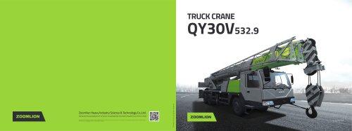 TRUCKCRANE QY30V532.9