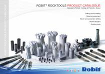 ROBIT® ROCKTOOLS PRODUCT CATALOGUE