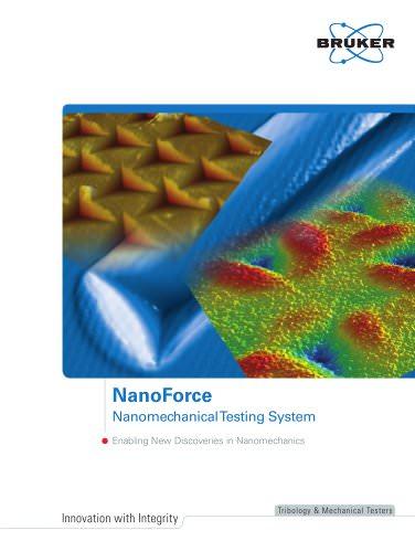 NanoForce Nanomechanical Testing System