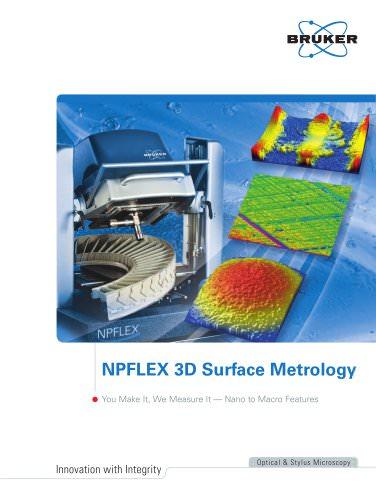 NPFlex 3D Surface Metrology System