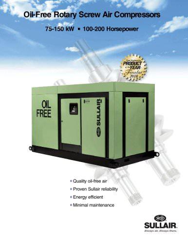 Oil-Free Rotary Screw Air Compressors