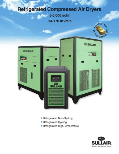 Refrigerated Compressed Air Dryers