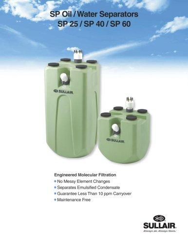 SP Oil /Water Separators SP 25 / SP 40 / SP 60