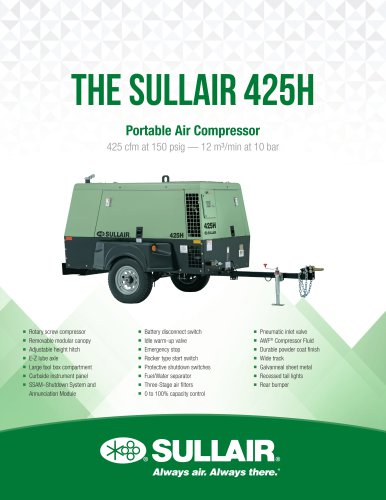 The SULLAIR 425H