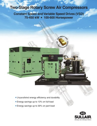 Two-Stage Rotary Screw Air Compressors