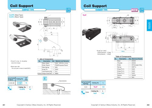 Coil Support Economy Type