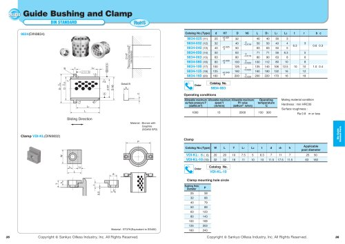 Guid Bushing and Clamp 9834/VDI-KL