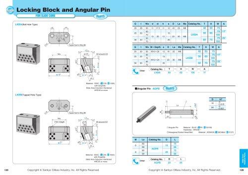 Locking Block  Augular Pin