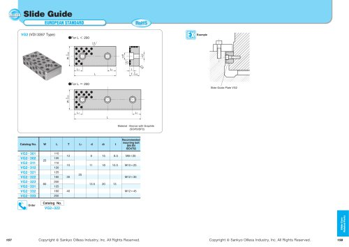Slide Core Related Parts:VG2