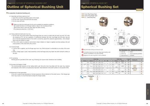 Spherical Bush Set