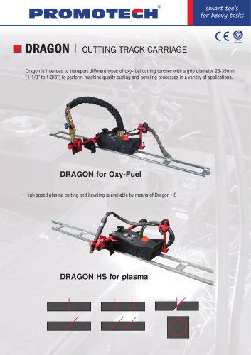 Dragon Cutting Bevelling Track Carriage