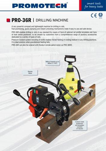 PRO-36 R | Electric Motor Rail Drill