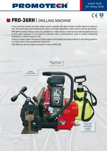 PRO-36 RH | Petrol Motor Rail Drill