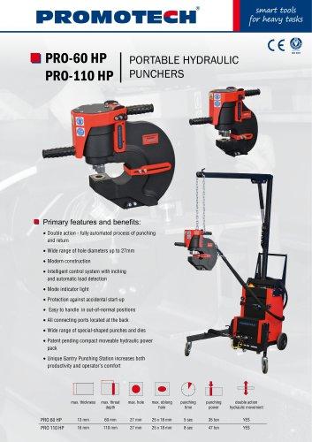 PRO-HP | Portable Hydraulic Punchers