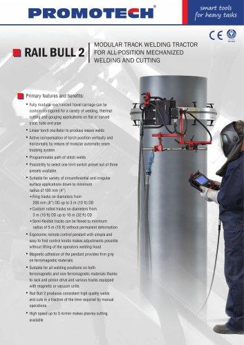 RAIL BULL 2 - Modular track welding tractor