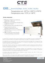 Brochure gamme « CHD »
