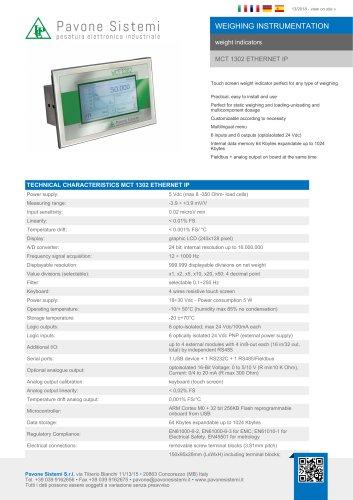 MCT 1302 ETHERNET IP