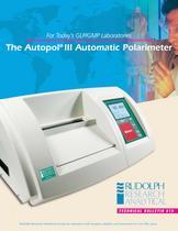 AUTOPOL III Polarimeter