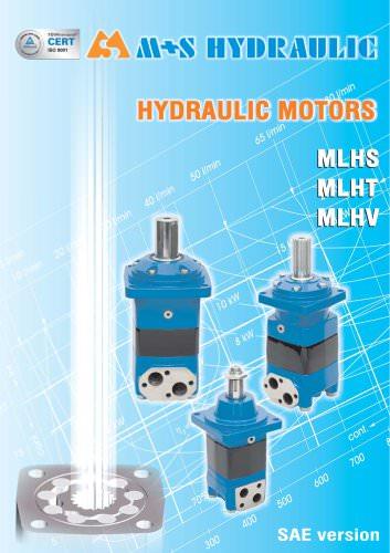 Hydraulic Motors MLHS MLHT MLHV