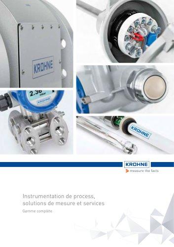 Instrumentation de process, solutions de mesure et services