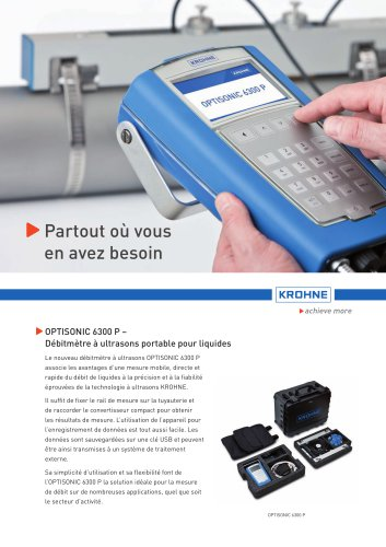 OPTISONIC 6300 P   6400