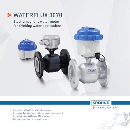 WATERFLUX 3070